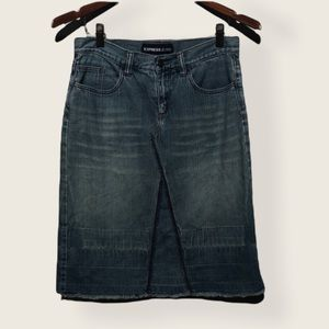 Express jeans denim skirt size 1 / 2